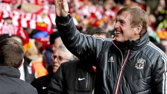Kenny Dalglish, entrenador del Liverpool, en una imagen de archivo.