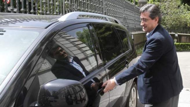 El diputado de UPyD en el Parlamento de Asturias, Ignacio Prendes.
