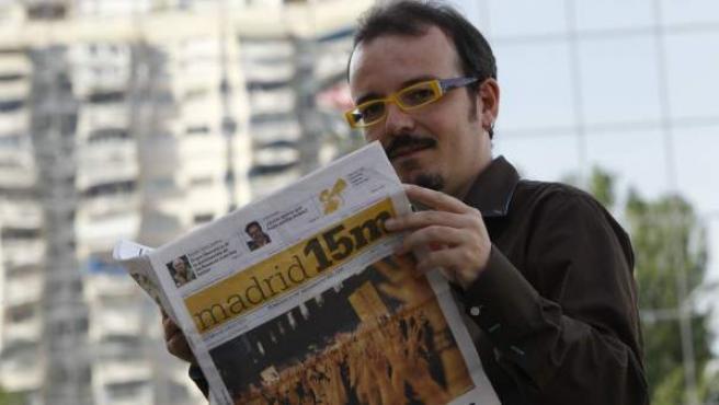 El periodista, escritor, consultor y bloguero de 20minutos.es, Bernardo Gutiérrez.