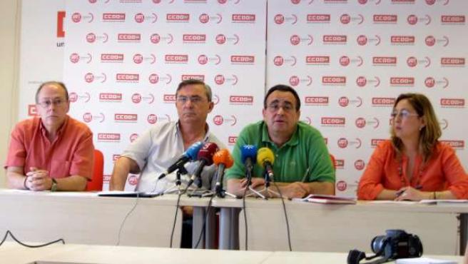 Vidán Y Gilabert En Rueda De Prensa