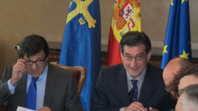 Javier Fernández E Ignacio Prendes