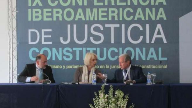 Clausura De La IX Conferencia Iberoamericana De Justicia Constitucional