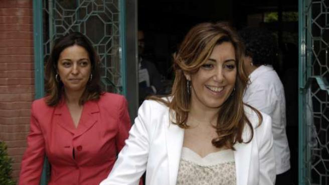 Susana Díaz, Seguida Por La Delegada Del Gobierno Andaluz En Córdoba