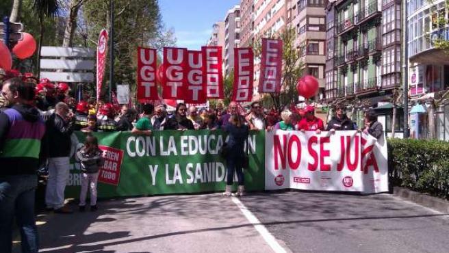 Manifestación Contra Recortes Educación Y Sanidad_ 29 Abril