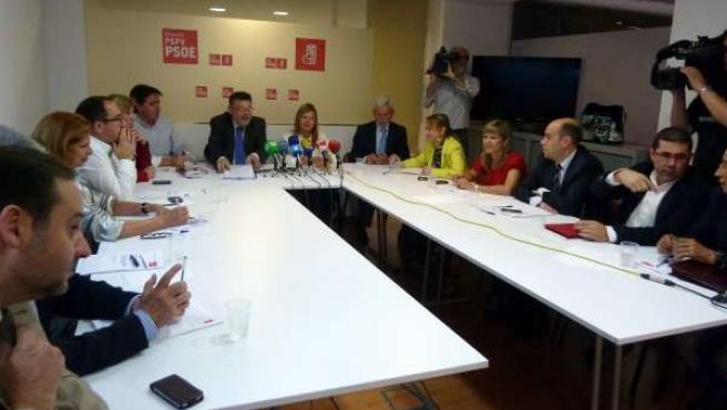 Ximo Puig Y Leire Pajín En Su Visita Este Viernes A Alicante