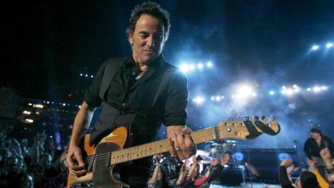 Bruce Springsteen, en uno de sus maratonianos conciertos.