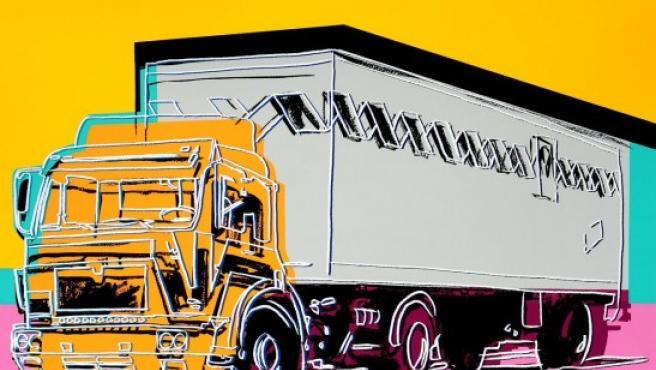 'Camión' (1985), una de las obras incluídas en la muestra 'Warhol and Cars: American Icons'