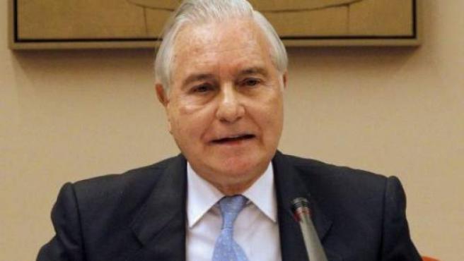 Carlos Dívar, presidente del Supremo y del CGPJ.