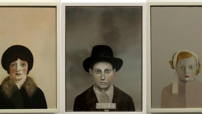 Tres de los delincuentes retratados por la artista. Uno, acusado de ser 'una imitación de mujer', el segundo, de robo; la tercera, de prostitución