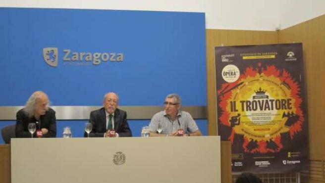 Pedro Purroy, Miguel Ángel Tapia Y Luis Merchán.