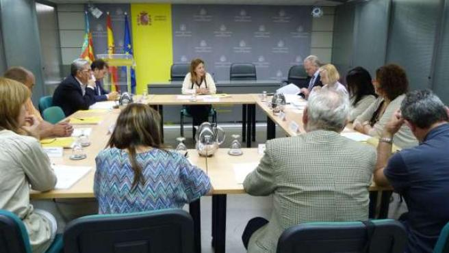 La Delegada Del Gobierno En La Comunitat Paula Sánchez De León