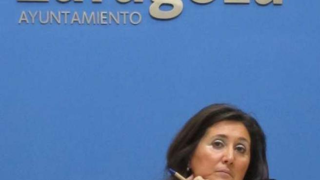 La Concejal Del PP. Paloma Espinosa