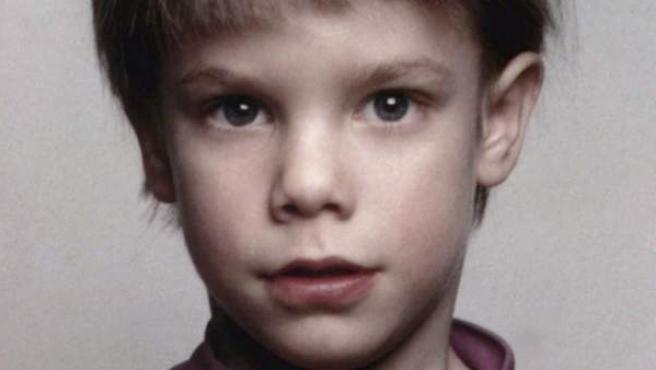 El niño Etan Patz, de seis años, desaparecido en Nueva York en 1979.