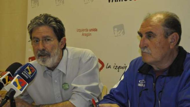 Adolfo Barrena Y Félix Rubio, De IU-Aragón.