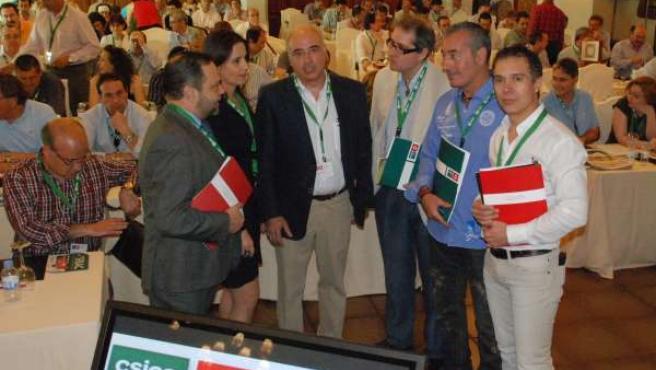 Clausura Del Congreso Anual De Csica En Segovia.