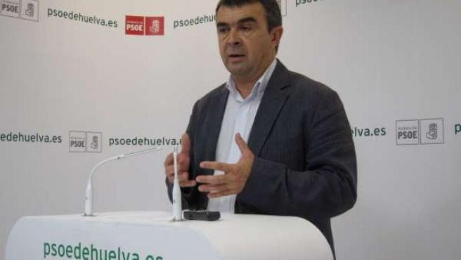 El Portavoz Del PSOE En Aljaraque, José Martín.