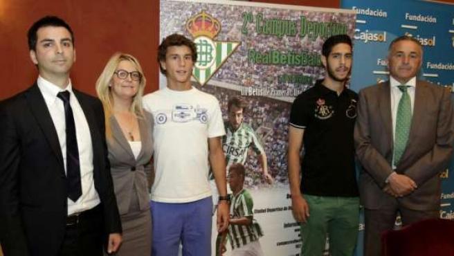 Presentación Del II Campus Deportivo Real Betis