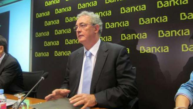 Francisco Verdú, Consejero Delegado De Bankia
