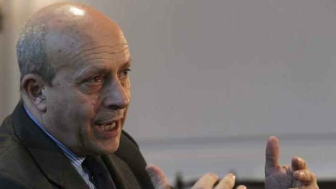 El ministro de Educación, Cultura y Deporte, José Ignacio Wert.