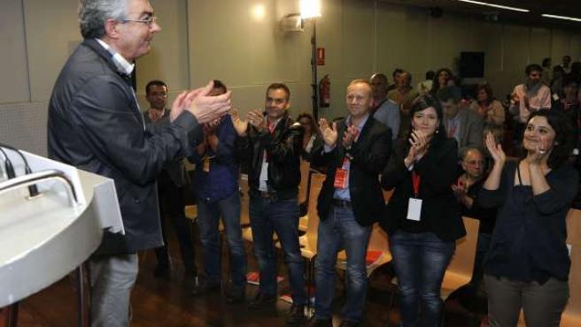 Raúl Fernández, Reelegido Secretario Provincial Del Psdeg En Ourense. Al Fondo S