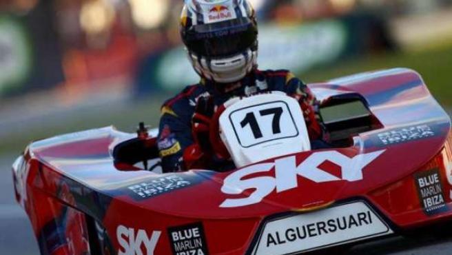 Jaime Alguersuari En Kart