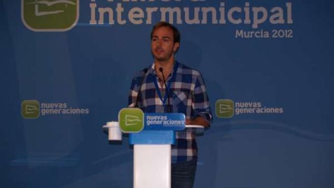 El Secretario General Nacional De Nuevas Generaciones, Javier Dorado
