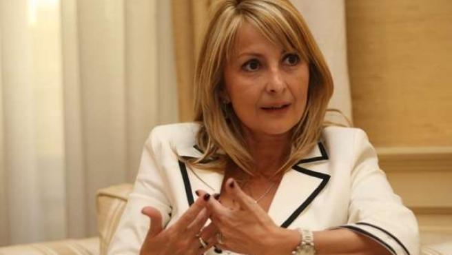 María Australia Navarro, Diputada Del PP En El Parlamento De Canarias