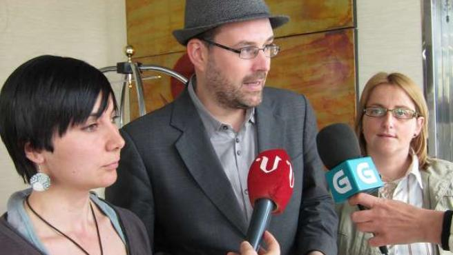 Jéssica Fernadez, Martiño Noriega Y Mónica Peralba