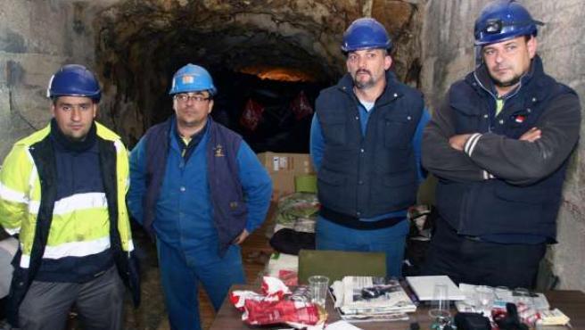 Mineros Encerrados En La Mina De Rio Tinto