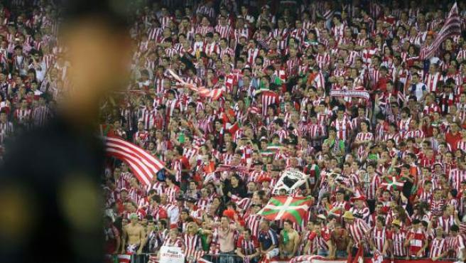 El himno fue recibido con una sonora pitada en la final de la Copa del Rey.