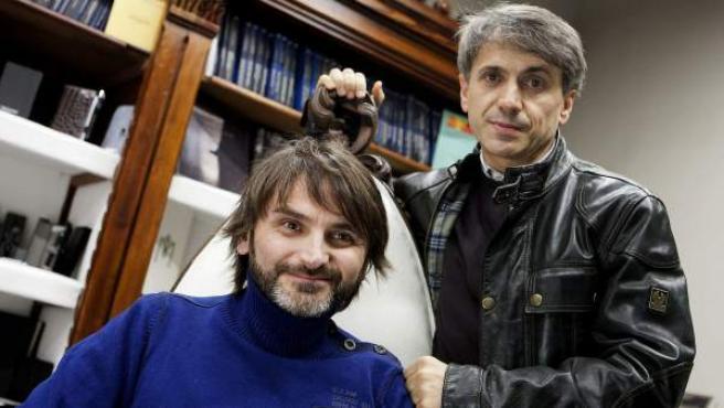 Los actores Fernando Tejero (izda) y José Mota, en una imagen de archivo.