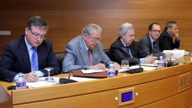 El Exconsejero Juan Pacheco En La Comisión De La CAM