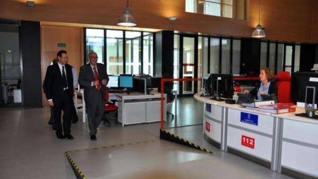 Visita Del Consejero De Presidencia A Bomberos Y 112 Asturias