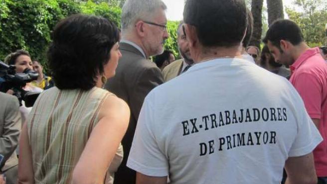 Ávila Escucha A Exempleados De Primayor Que Piden El Cumplimiento De Su Acuerdo.