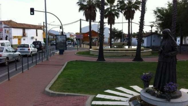 Plaza Del Punto De Valverde Del Camino