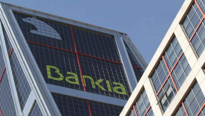 Sede de la entidad Bankia, en Madrid.