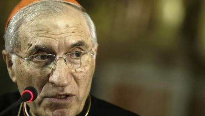 El presidente de la Conferencia Episcopal Española, Antonio María Rouco Varela.