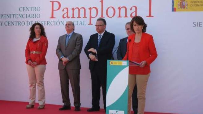 Acto De Inauguración De La Nueva Cárcel De Pamplona.