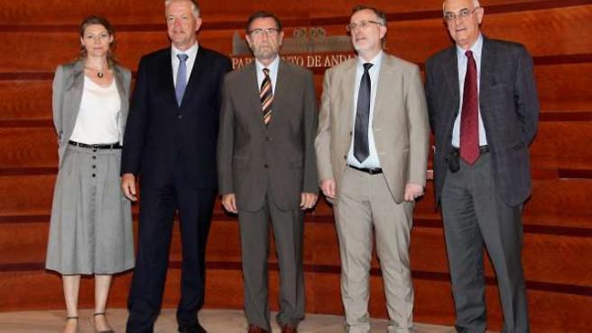 Gracia Se Reúne Con Miembros Del Consejo De Europa