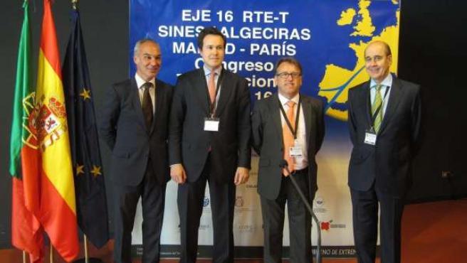 El Consejero Extremeño En El Congreso Que Se Celebra En Badajoz