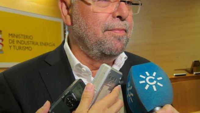El Viceconsejero De Turismo De La Junta De Andalucía, Antonio Jesús Roldán (IU),