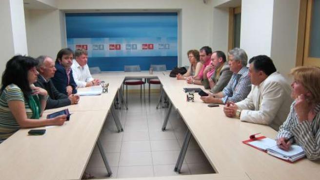 Reunión Entre El PSOE De León Y CC.OO.