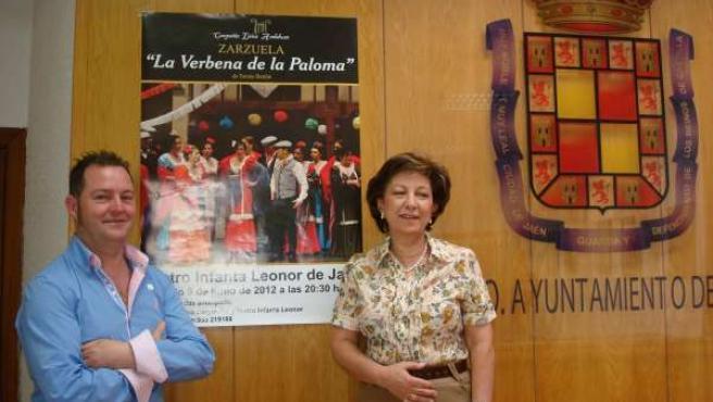 Puig Y Nestares Presentan La Zarzuela 'La Verbena De La Paloma'.