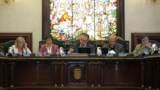 Pleno Del Ayuntamiento De Pamplona.