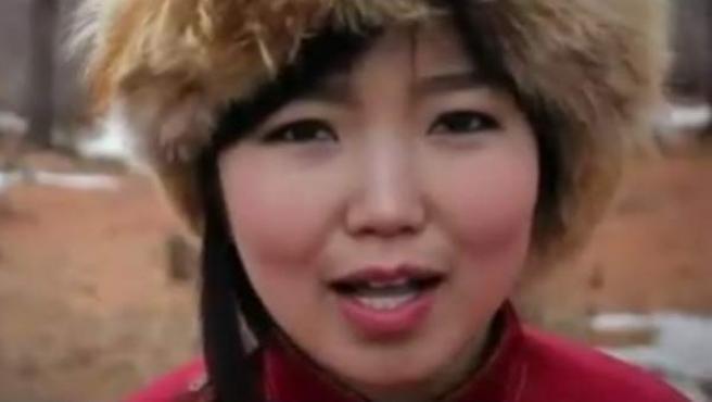 Una imagen del vídeo de Amaral 'Hoy es el principio del fin'.
