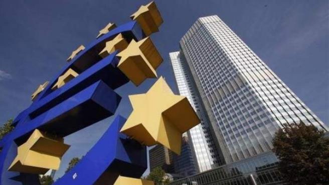 Imagen de archivo de la sede del Banco Central Europeo en Fráncfort (Alemania).