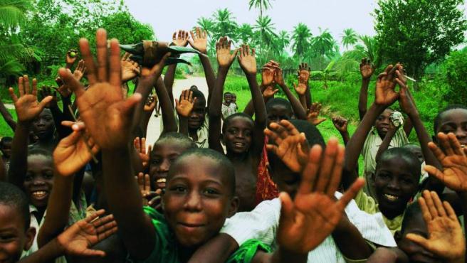 Fotografía del libro 'África en la mirada'.