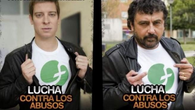 Las actores Manu Baqueiro, 'Amar en tiempos revueltos', Paco Tous, 'Con el culo al aire' y Ángeles Martín, 'La familia de Pascual Duarte'.