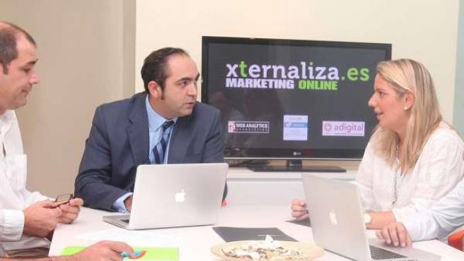 Equipo De La Empresa Murciana Xternaliza Marketing Online