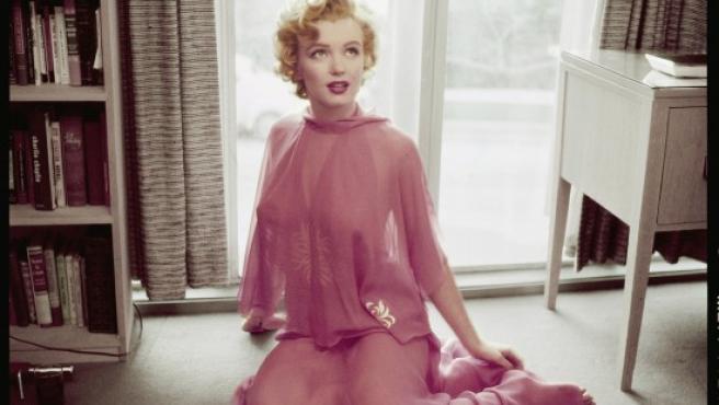 """Otra foto de Philippe Halsman del libro """"Marilyn by Magnum"""""""